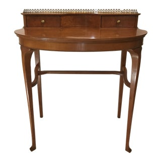 19th Century French Birds Eye Maple Ladies Desk For Sale