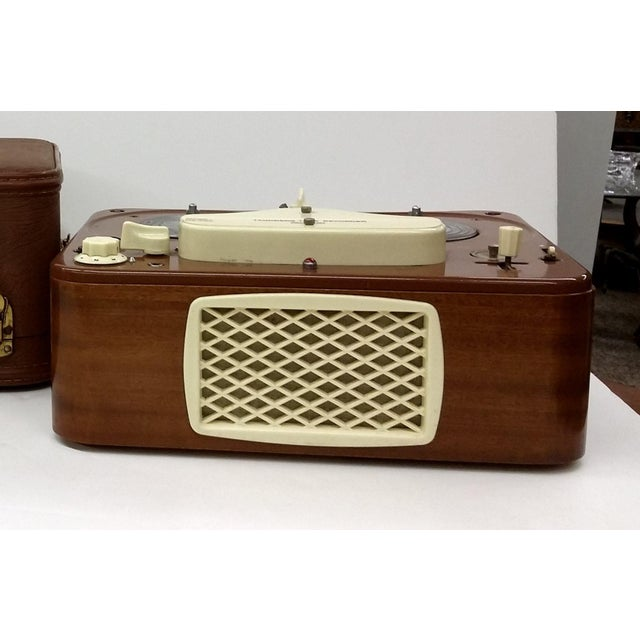 Vintage Collectible Tandberg Radiofabrikk Reel to Reel Tape Recorder For Sale - Image 10 of 10