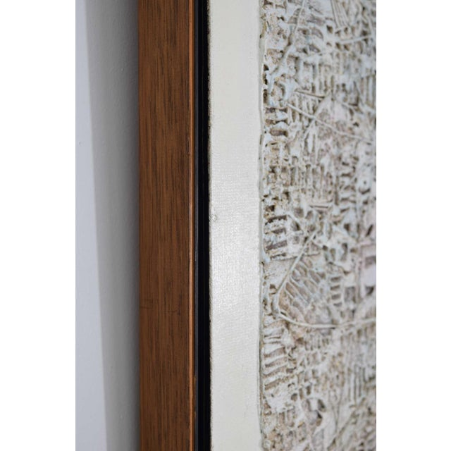 1970s Abstract Brutalist Style Textured Art on Masonite For Sale - Image 5 of 10