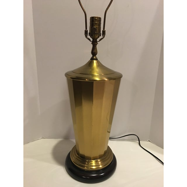 """Wildwood , """"The standard of Elegance"""" , quality made lamps. Made here in the USA ! This antiqued brass paneled lamp on a..."""