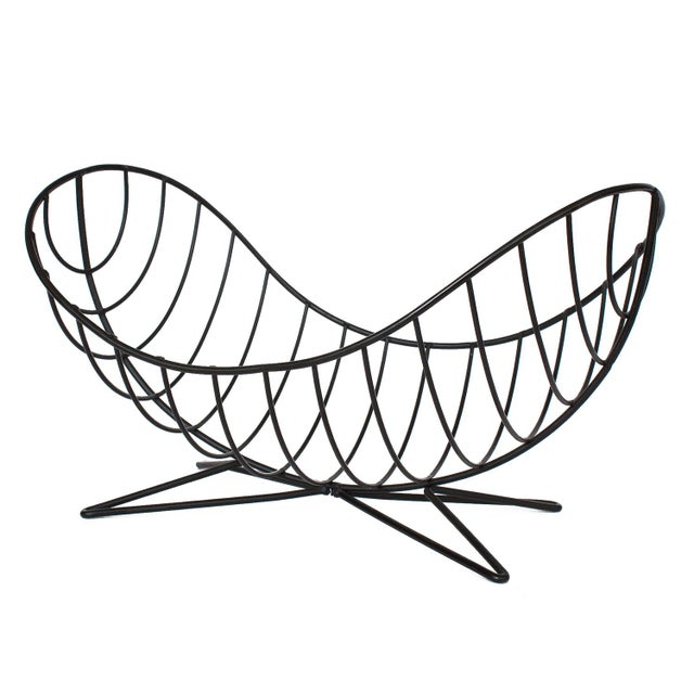 Ferris-Shacknove Twin Scoop Wire Fruit Basket For Sale - Image 13 of 13