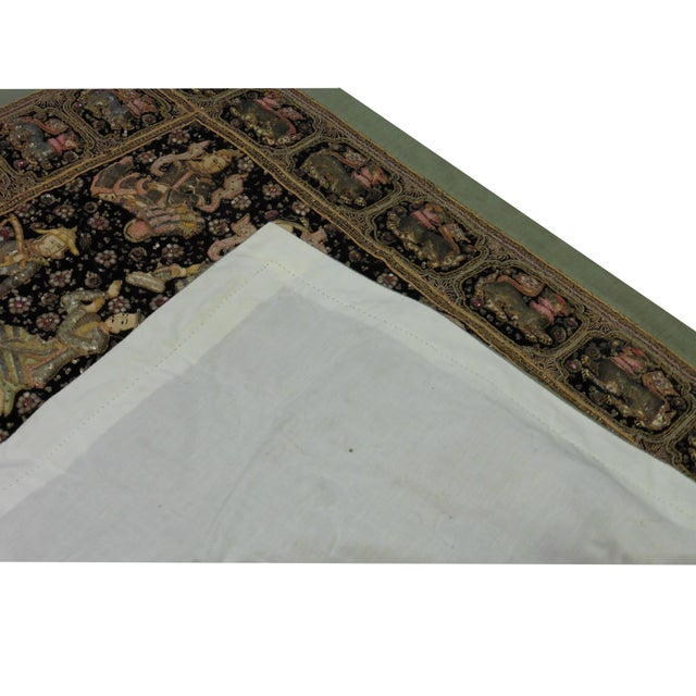 Embroidered Kalaga Tapestry For Sale - Image 4 of 4