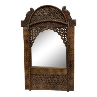 Carved Moroccan Mirror For Sale
