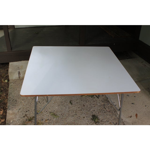 Eames DTM20 Folding Dining Table by Herman Miller For Sale - Image 5 of 8