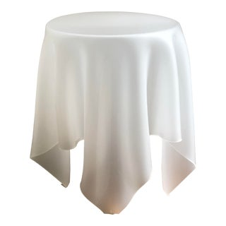 Acrylic Handkerchief Table For Sale