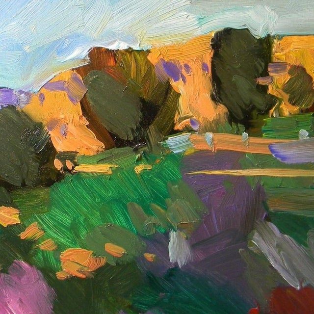 Contemporary Jose Trujillo Contemporary Landscape Oil Painting For Sale - Image 3 of 4
