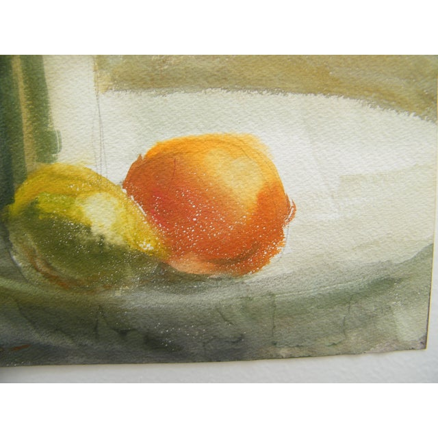 Vintage Still Life Svensto Watercolor Painting - Image 5 of 9