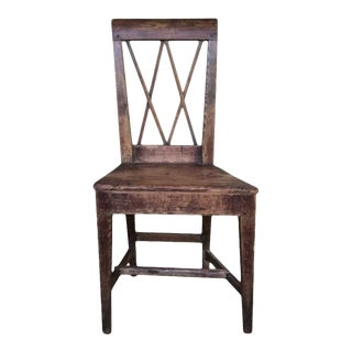 Neoclassical Style 19th Century Side Chair For Sale