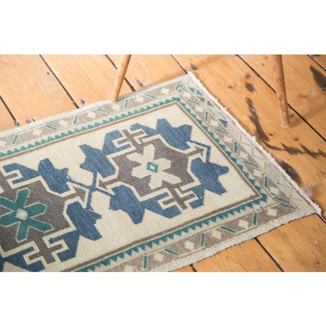 "Islamic Vintage Oushak Rug - 1'9"" X 3'4"" For Sale - Image 3 of 8"