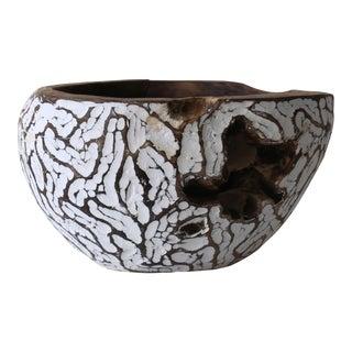 Teak Carved Bowl For Sale