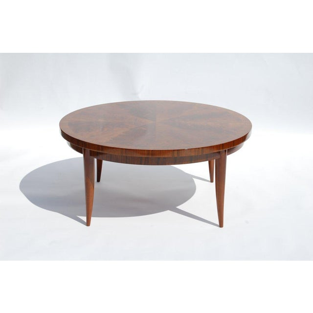 Round Cocktail Table For Sale In Providence - Image 6 of 6