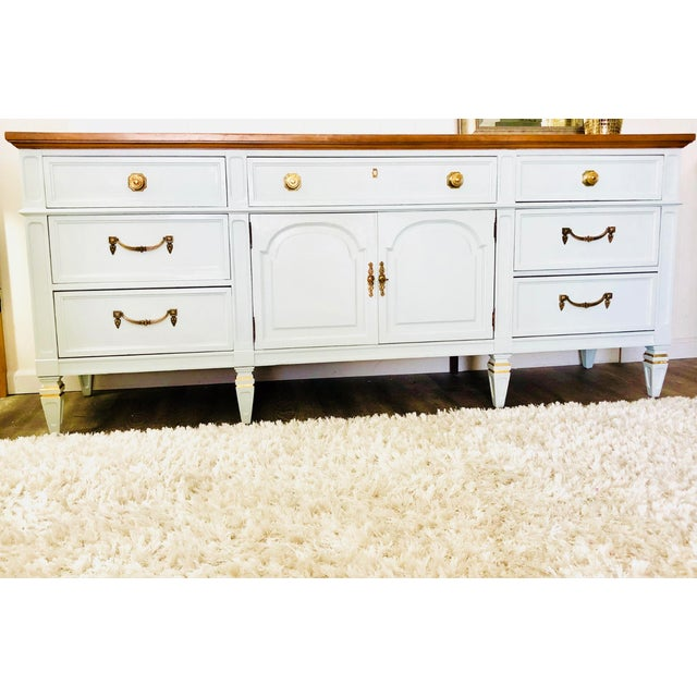 Vintage Thomasville Sideboard For Sale - Image 12 of 12