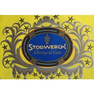 Original 1927 Lithographic Mini Poster - Rheingold For Sale