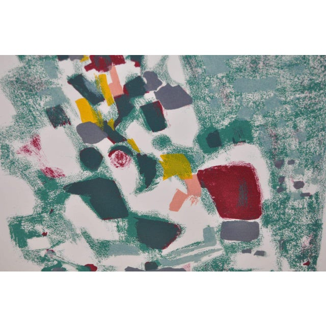 1950s Vintage Original Pencil Signed Lithograph by Alexandre Sacha Garbell For Sale In San Francisco - Image 6 of 6
