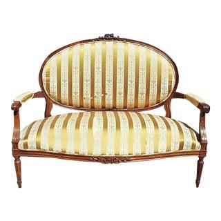 French Louis XVI Settee