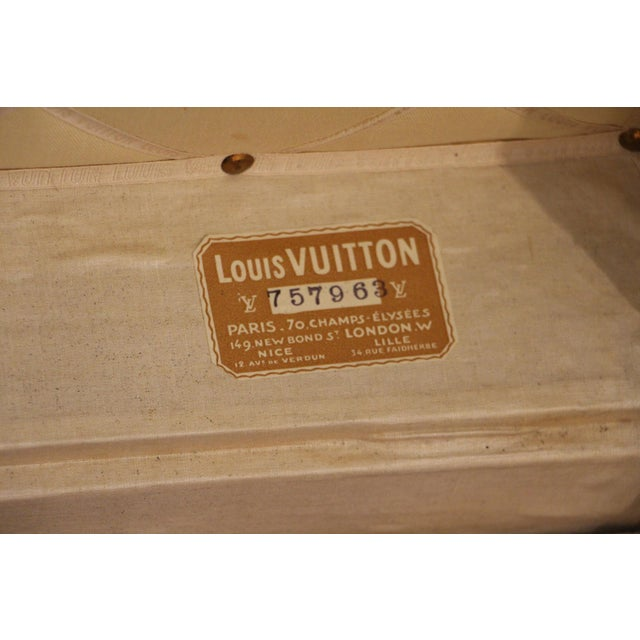 Louis Vuitton Monogram Steamer Trunk For Sale - Image 11 of 12
