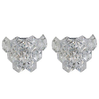 Pair Kinkeldey Austrian Crystal Sconces For Sale