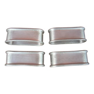 Pewter Napkin Rings - Set of 4