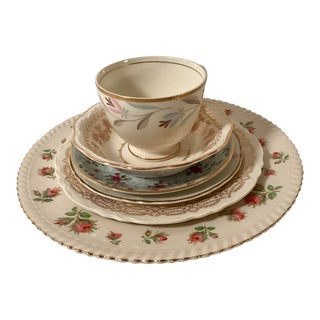 MisMatched China Place Setting - 6 Pieces For Sale