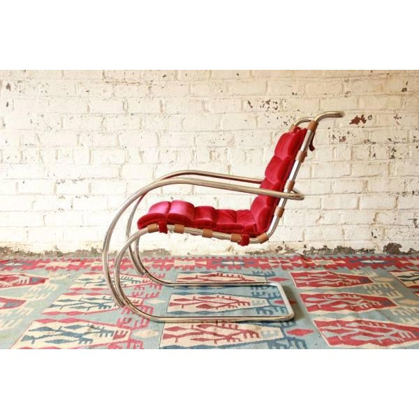 Mies Van der Rohe MR-20 Lounge Chairs - A Pair - Image 7 of 9