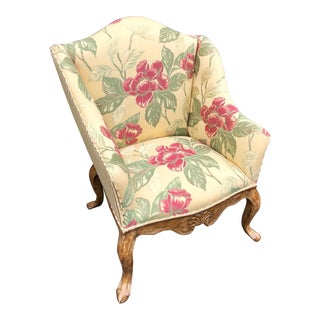 Charles Pollock Louis XVI Occasional Chair For Sale