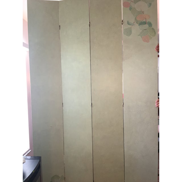 Hand Painted Folding Screen - Image 4 of 7