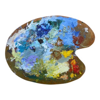 French Artist Oil Palette