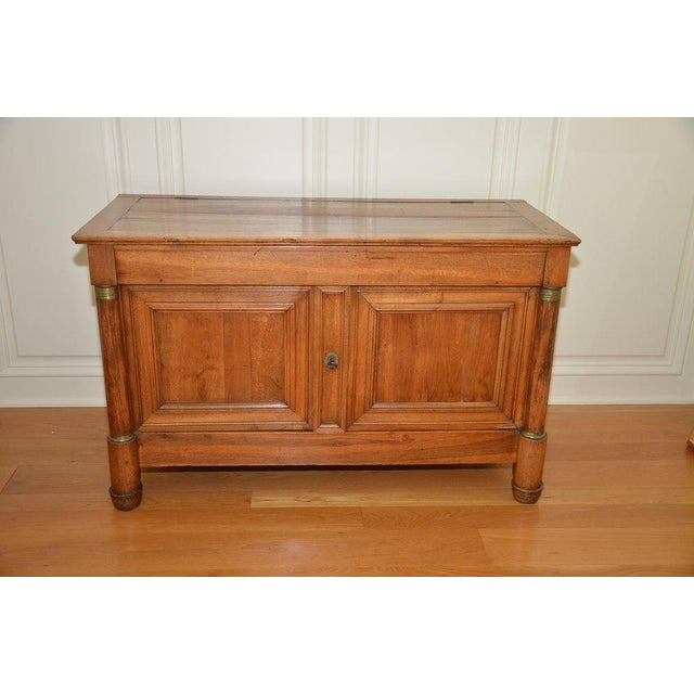 Antique French Lift Top Ice Chest Cabinet - Image 2 of 10