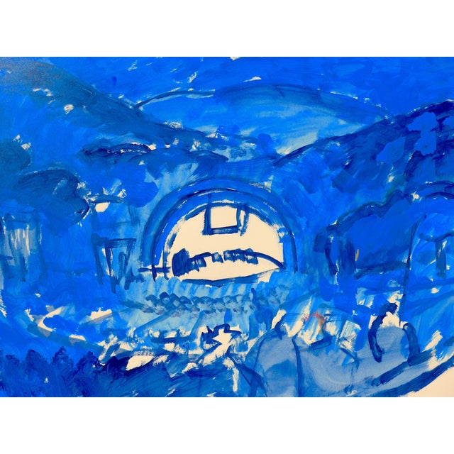 Hollywood Bowl Summer Night Concert Painting - Image 3 of 5