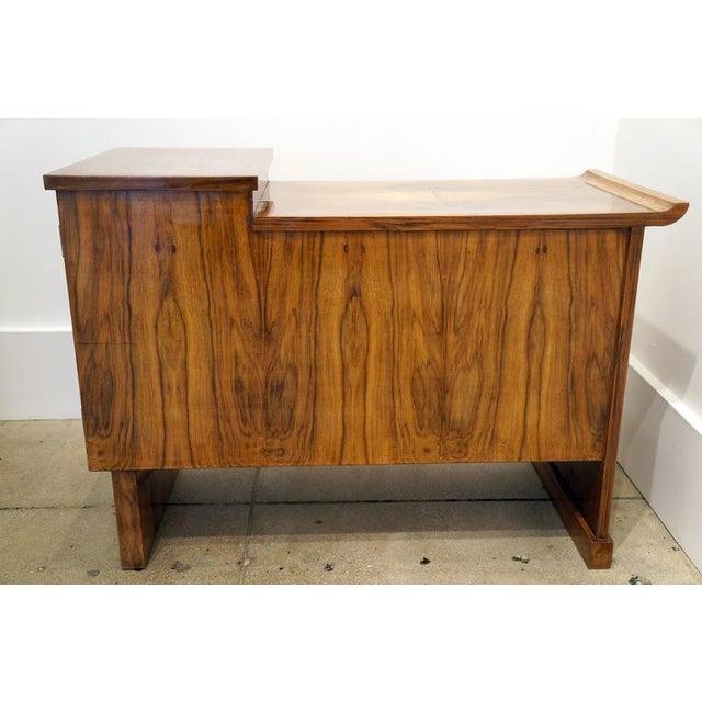Art Deco Walnut Cabinet - Image 5 of 10