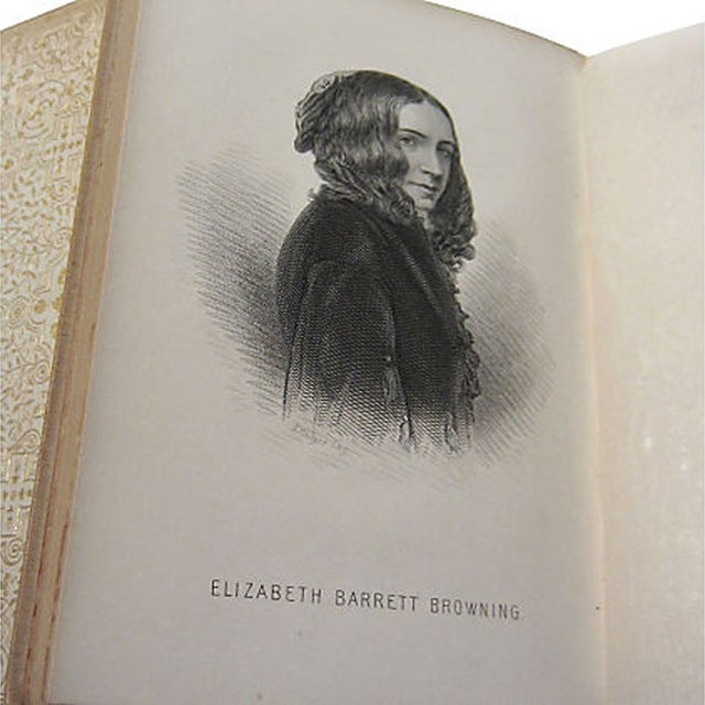 Elizabeth Barrett Browning Poetry - 5 Volumes - Image 5 of 7