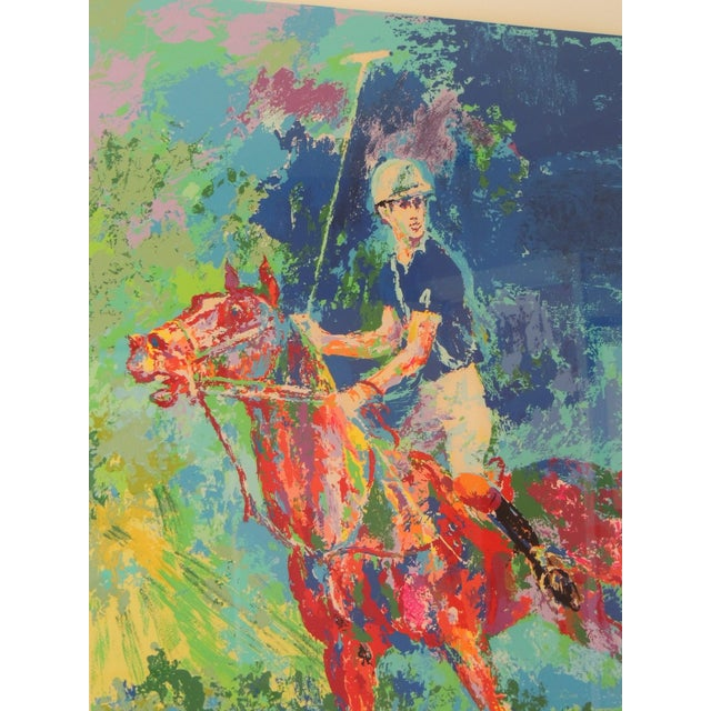 White Artist LeRoy Neiman Prince Charles at Winsor Framed Art For Sale - Image 8 of 8
