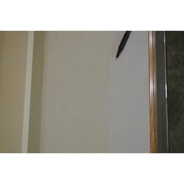 Milo Baughman for Thayer Coggin Milo Baughman Thayer Coggin Chrome Base 4 Door Sideboard For Sale - Image 4 of 13