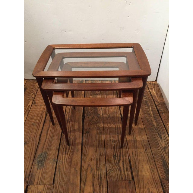 Italian Ico Parisi Italian Nesting Tables - Set of 3 For Sale - Image 3 of 5