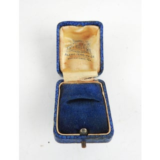 Antique Alamo Jewelry Ring Box Preview