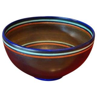 1950s Mid-Century Modern Ceramic Bowl For Sale