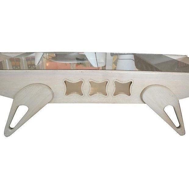 Mid-Century Coffee Table 1950s Atomic Era - Image 2 of 3