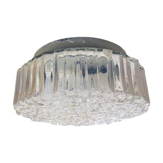 Waldorf Astoria Mid-Century Modern Bubble Flush Mount Light Fixture For Sale