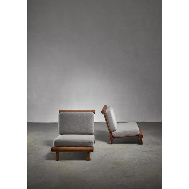 1960s Charlotte Perriand Chairs From La Chachette, France For Sale - Image 5 of 7