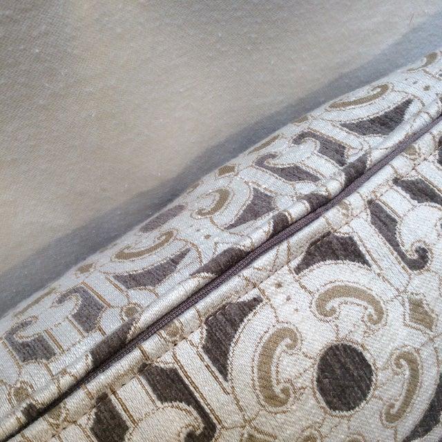 Cream & Brown Custom Pillow - Image 8 of 8
