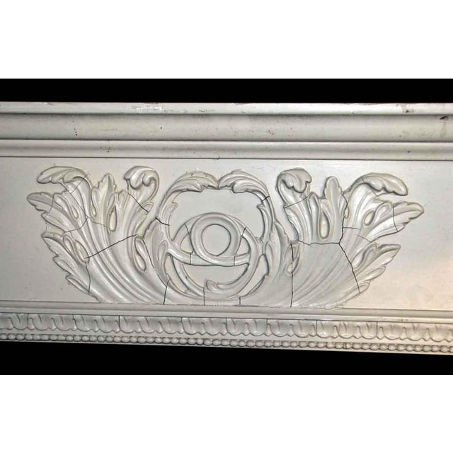 Salvaged White Window Molding Headers - A Pair - Image 6 of 7