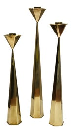 Image of Danish Modern Candle Holders