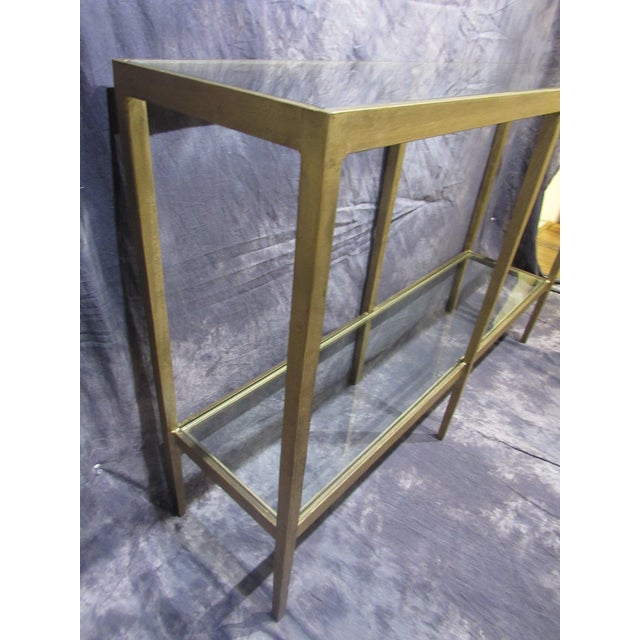 Hollywood Regency Console Table For Sale - Image 3 of 13