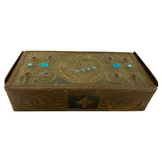 Alfred Daguet Jeweled Box For Sale