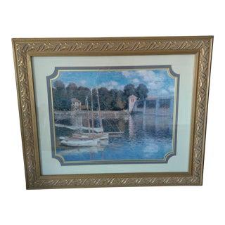 """Claude Monet's """"The Bridge at Argentuil"""" For Sale"""