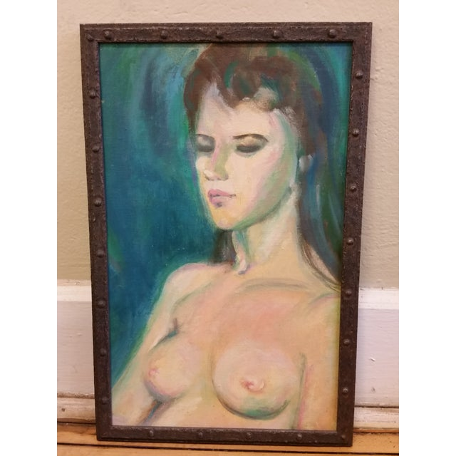 Nude Study Oil Painting - Image 3 of 8