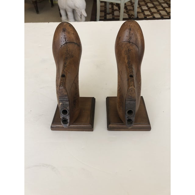 Traditional 19th Century Shoe Mold Bookends - a Pair For Sale - Image 3 of 10
