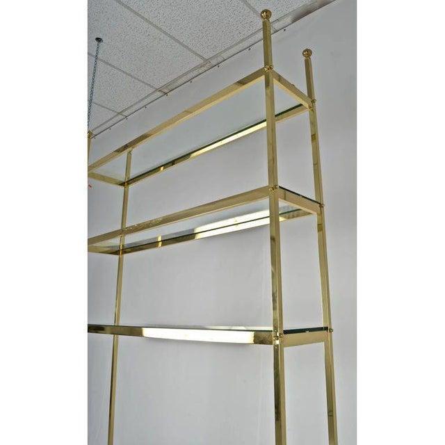 Brass Étagère For Sale - Image 4 of 7
