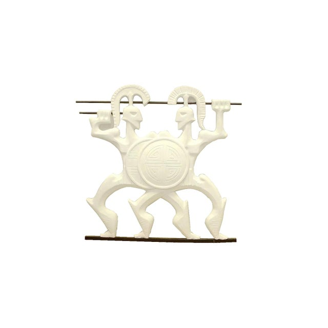 White Frederick Weinberg Back-Lit Wall Sculpture For Sale - Image 8 of 8