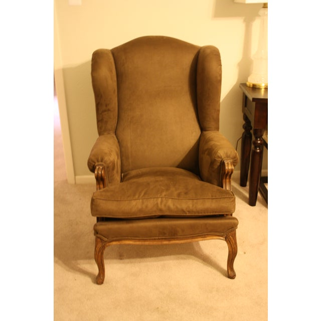 French Style Wingback Chair - Image 5 of 5